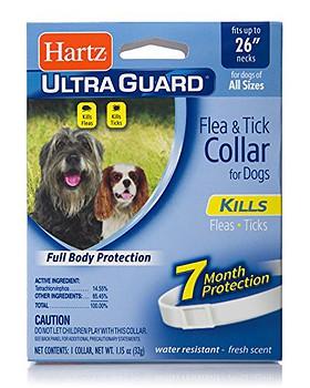 Hartz Ultra Guard 7 month flea tick dog collar protection