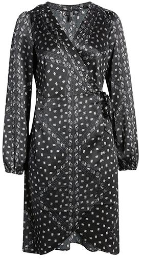 VERO MODA wrap dress | 40plusstyle.com