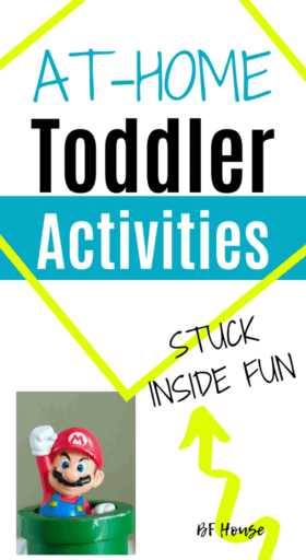 Toddler Activities for when you're stuck inside. Remember playing The Floor Is Lava?