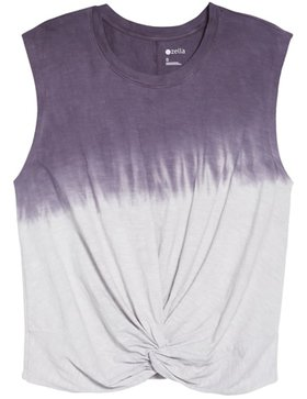 Zella twist around tank top | 40plusstyle.com