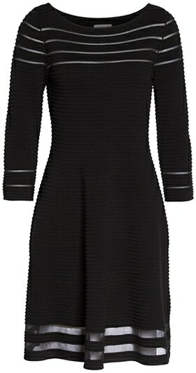 Perfect little black dress for the hourglass figure | 40plusstyle.com