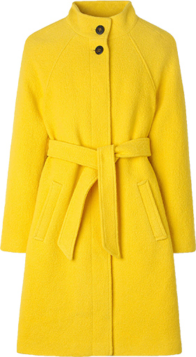 Boden belted coat | 40plusstyle.com