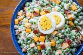 Easy English Pea Salad