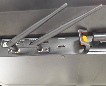 le module wifi de l'écran tactile speechitouch