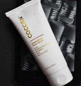 coccoon detoxifying face wash review