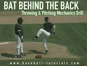 bat behind the back pitching mechanics drill