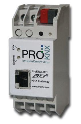 ProKNX RTI - Gateway zur bidirektionalen Kommunikation von RTI Extender mit dem KNX/EIB Bus.