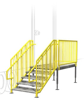 Portable Access Stairs