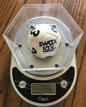 Swax Lax Ball Weight