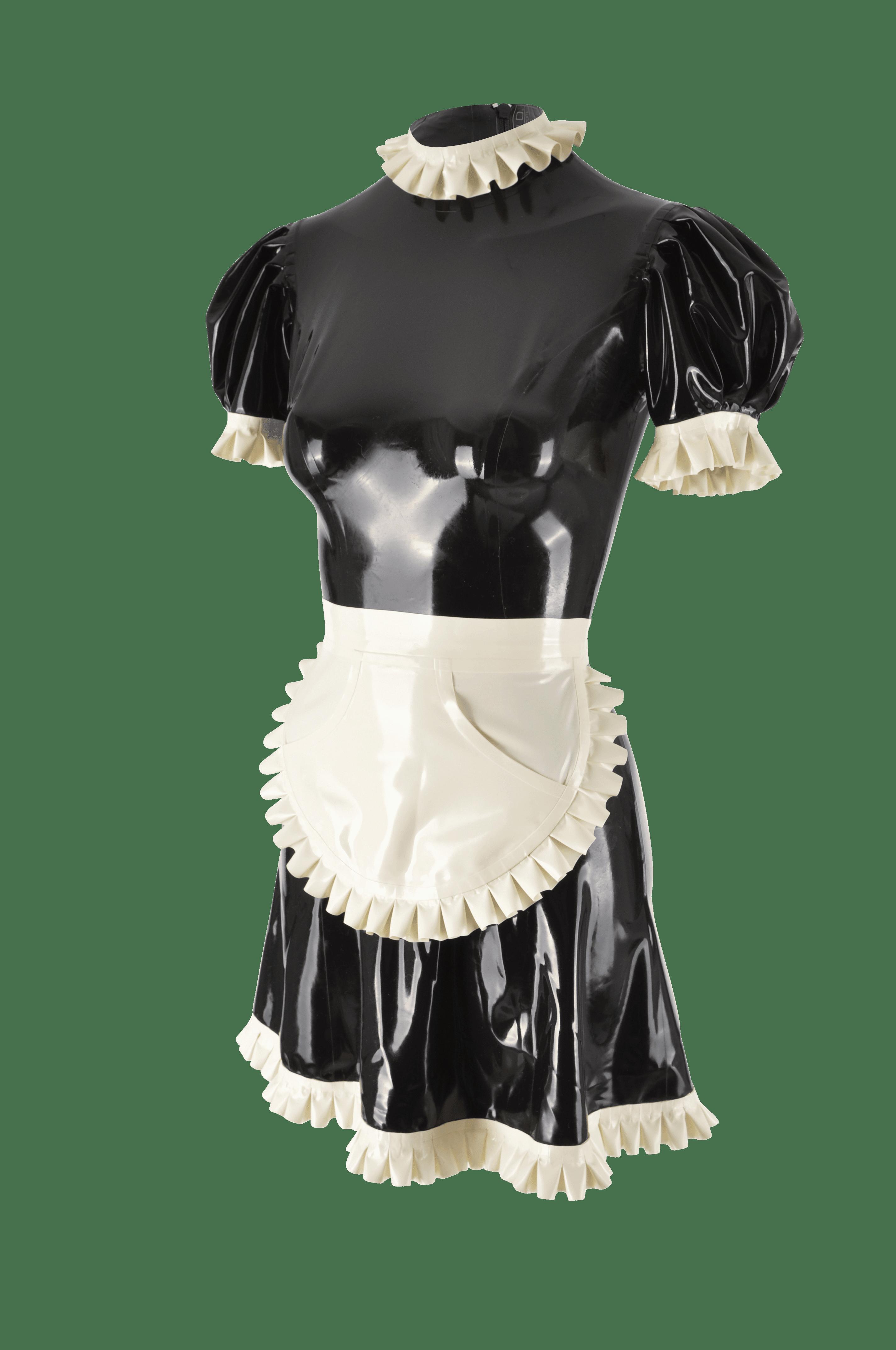 Latex Kleid kurz