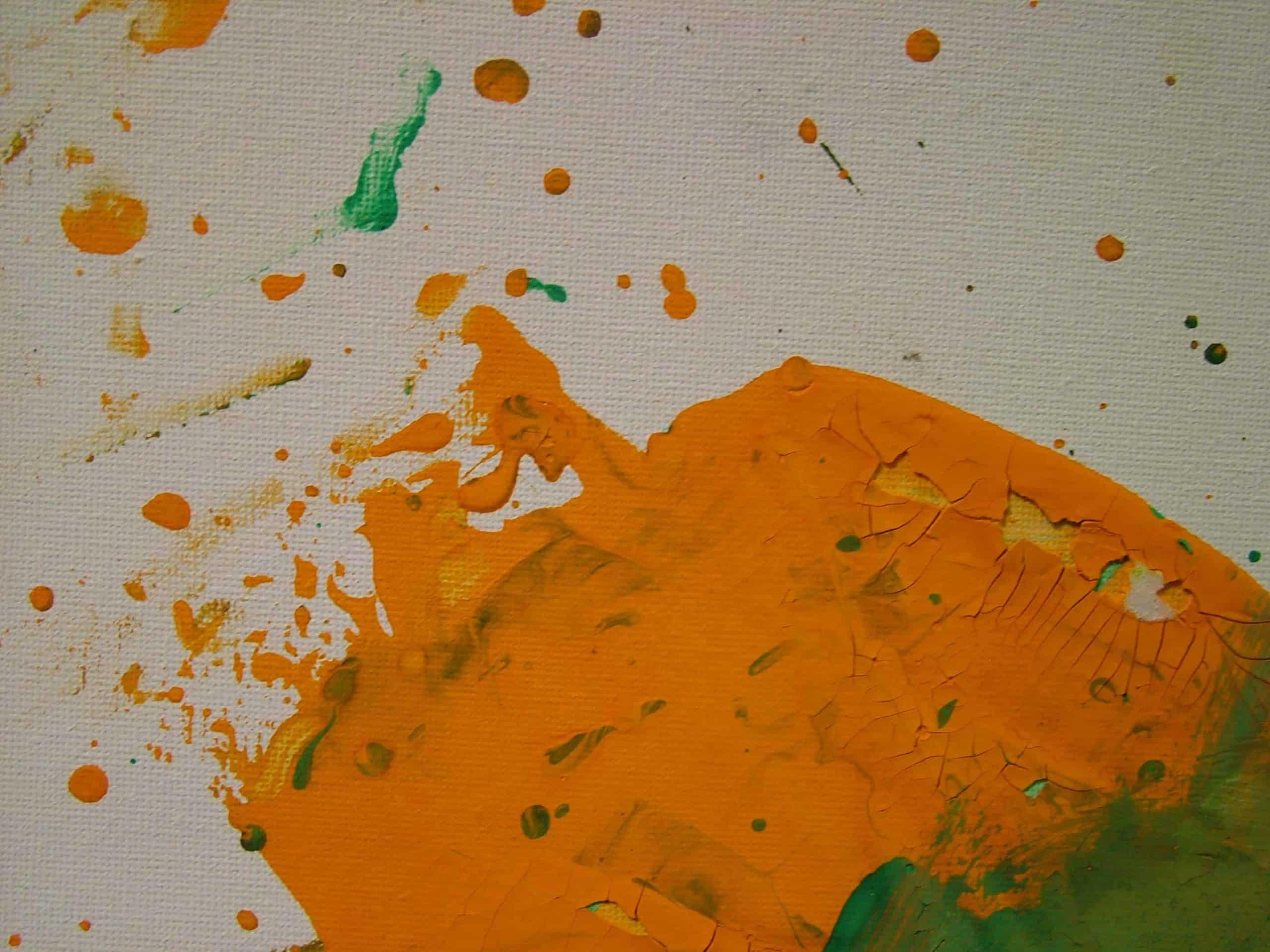Art Brut Werk von Künstlern der Förderstättte der Lebenshilfe e.V. Passau #2