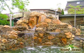 Ремонт искусственного водоема в с. Зазимье