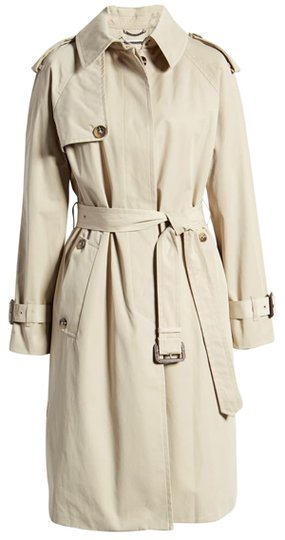 London Fog Heritage Water Repellent Trench Coat | 40plusstyle.com