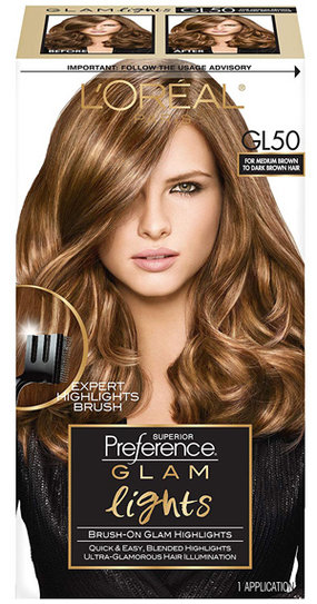 L'Oreal Paris Superior Preference Brush On Glam Highlights | 40plusstyle.com