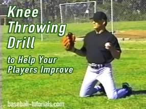 Knee Throwing Drill