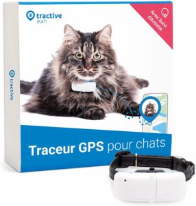 Tractive collier GPS pour chat