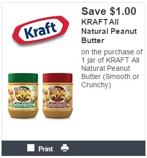 photograph relating to Kraft Coupons Printable identify Clean Printable Kraft Discount codes for Peanut Butter and Kraft