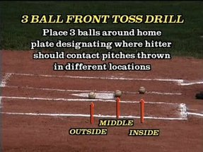 3 ball hitting drill