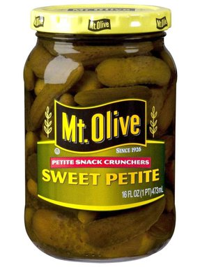 Mt. Olive Sweet Petite Snack Crunchers Jar