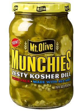 Munchies Zesty Dill Jar