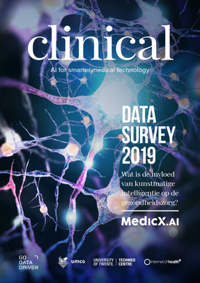 Front page of the Clinical Data Survey