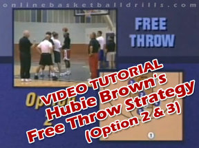free throw strategies option 2 and 3