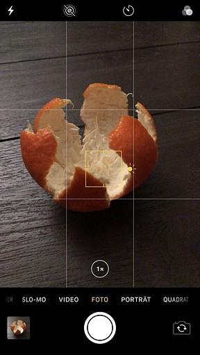 Smartphone-Fotografie: Fokus festlegen