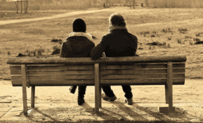 grief and loss support through talking with someone