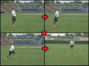 Falling Runs Youth Baseball Drill