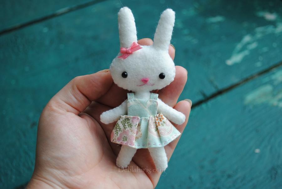 minitaure doll bunny pattern