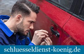 KFZ-Öffnung vom Schlüsseldienst Landau an der Isar