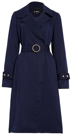Sam Edelman belted trench coat | 40plusstyle.com