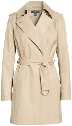 Halogen classic trench coat | 40plusstyle.com