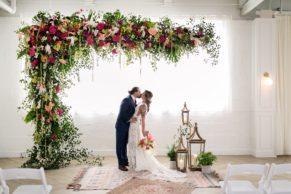 Whimsical Modern Ballroom Wedding