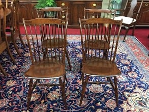 E.R. Buck Windsor Style Chairs