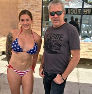 Red Rock Harley-Davidson Bike Wash - Ashley and A.D. Cook