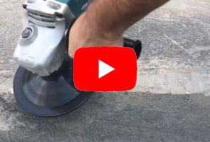 Disco de desbaste de concreto
