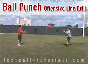 Ball Punch Offensive Line Drill