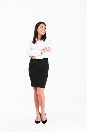 Straight Short Skirts