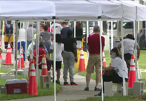 City of Opa-locka Opens New COVID-19 Walk-Up Testing Site