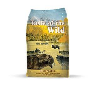 taste of the wild high prairie kibble review