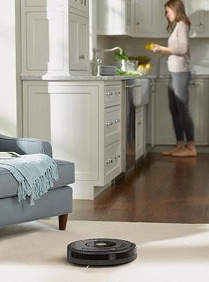 Irobot roomba aspiration sur moquette et tapis