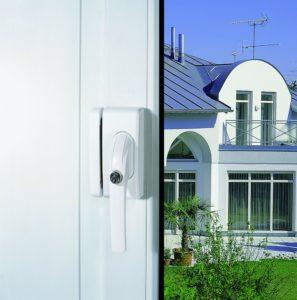 Einbruchschutz Fenster - ABUS 223723 Fensterschloss Typ FO400 W EK