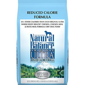Natural Balance Reduced Calorie Dog Food for Weight Loss