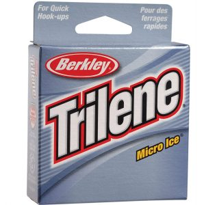 Berkley Trilene Micro Ice Monofilament Line Best Ice Fishing Line