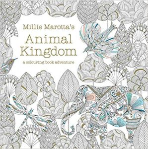 mindfulness adult colouring in book