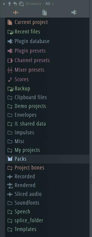 FL Studio Browser