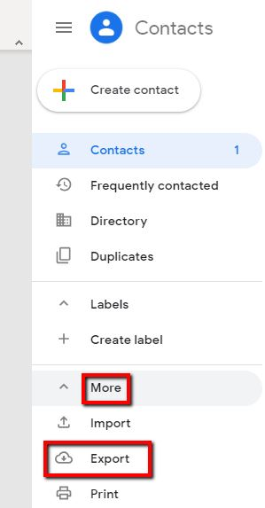 Export Google Contacts_3