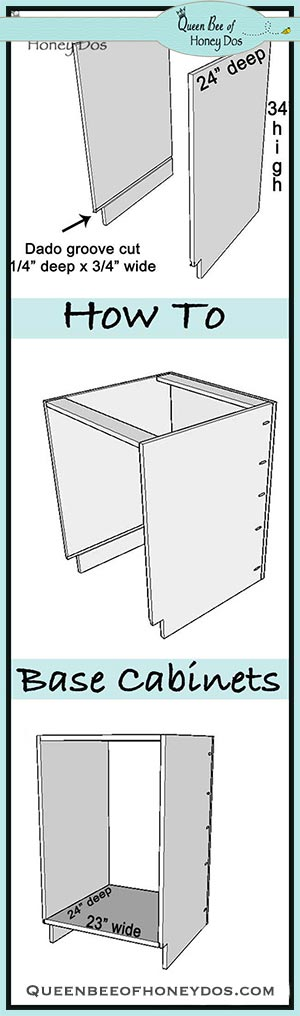 cabinet construction pin