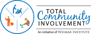 total community involvement weimar logo